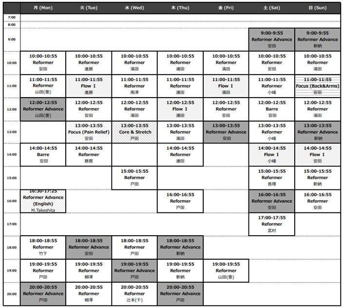 bdcpilates-schedule
